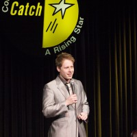 Ben Seidman On stage at Catch a Rising Star