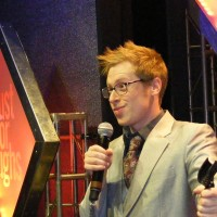 Ben Seidman Performing on stage live Just for Laughs 2010
