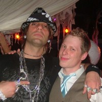 Ben Seidman and Criss Angel