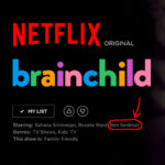 Ben Seidman in Brainchild is now streaming on Netflix For Instagram