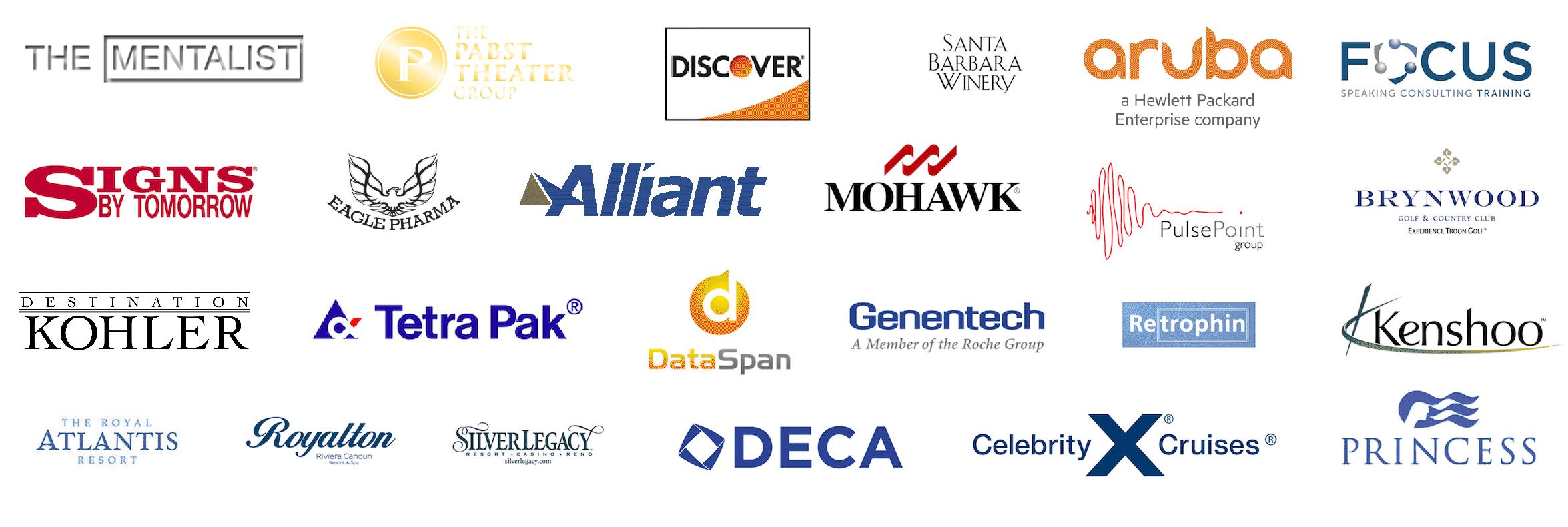 Ben Seidman List of clients part 8